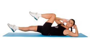 Упражнение при остеохондрозе