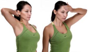 Упражнение при остеохондрозе шеи