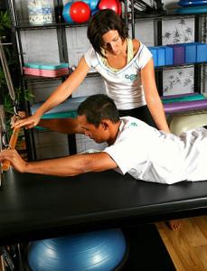 ЛФК в лечении остеохондроза