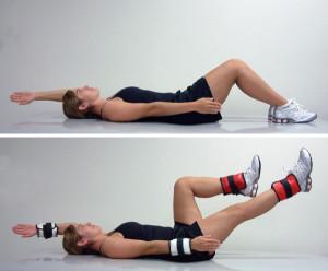 Упражнение из курса ЛФК