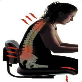 Очаги боли при полисегментарном остеохондрозе