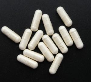 Прозрачные капсулы с белым лекарственным средством