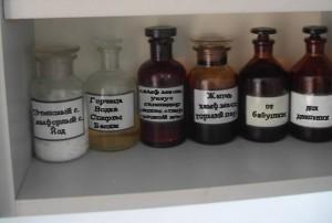 Домашняя аптечка с народными средствами