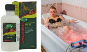 Скипидарная ванна на эмульсии