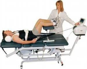 Вытяжение позвоночника при остеохондрозе
