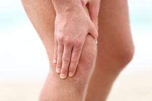 Боль при остеохондрозе коленного сустава