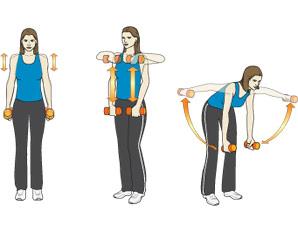 Комплекс упражнений при остеохондрозе