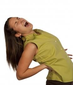 Острая боль при остеохондрозе