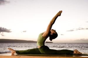 Йога со шпагатом