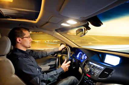 Напряжение позвоночника за рулём