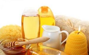 Подготовка мёда к массажу