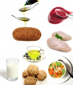 Допустимые продукты